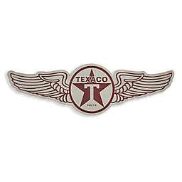 Vintage Texaco Wings Metal Wall Art