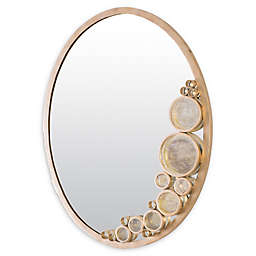Varaluz Fascination 22-Inch x 28-Inch Oval Wall Mirror