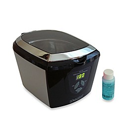 iSonic® Ultrasonic Cleaner with Digital Timer in Black/Silver