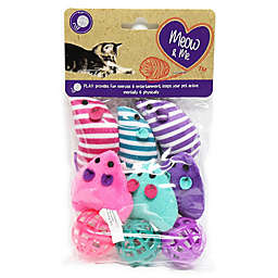 Meow & Me 9-Pack Ball and Mouse Cat Toy Set