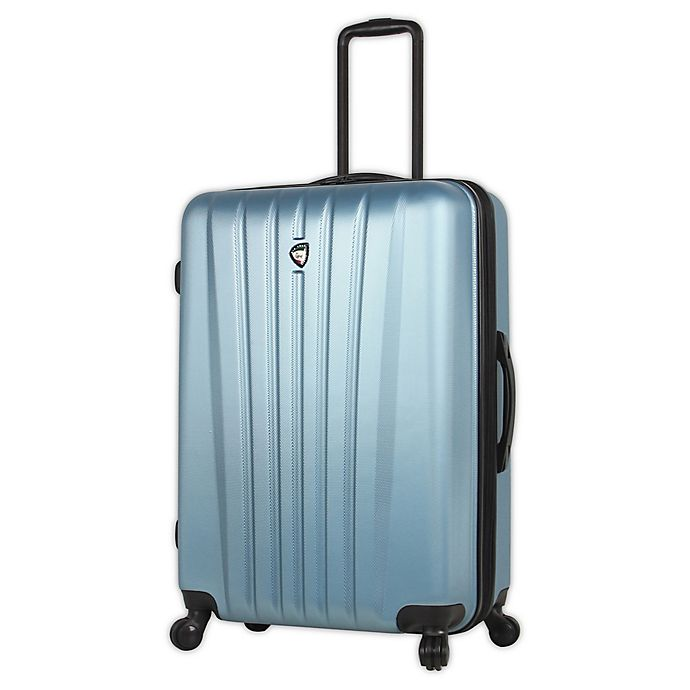 Alternate image 1 for Mia Toro ITALY Magari 28-Inch Hardside Spinner Checked Luggage in Slate