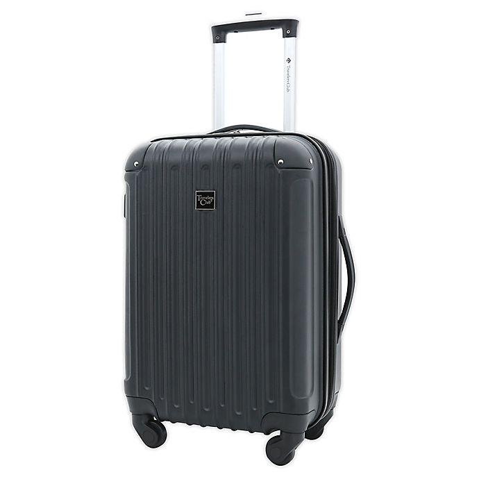 Alternate image 1 for Traveler's Club® Madison II 20-Inch Hardside Spinner Carry-on in Black