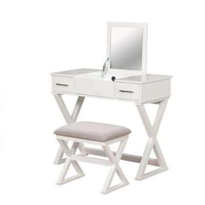 Alexis Bathroom Vanity With Stool Bed Bath Amp Beyond