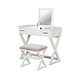Alexis Bathroom Vanity with Stool