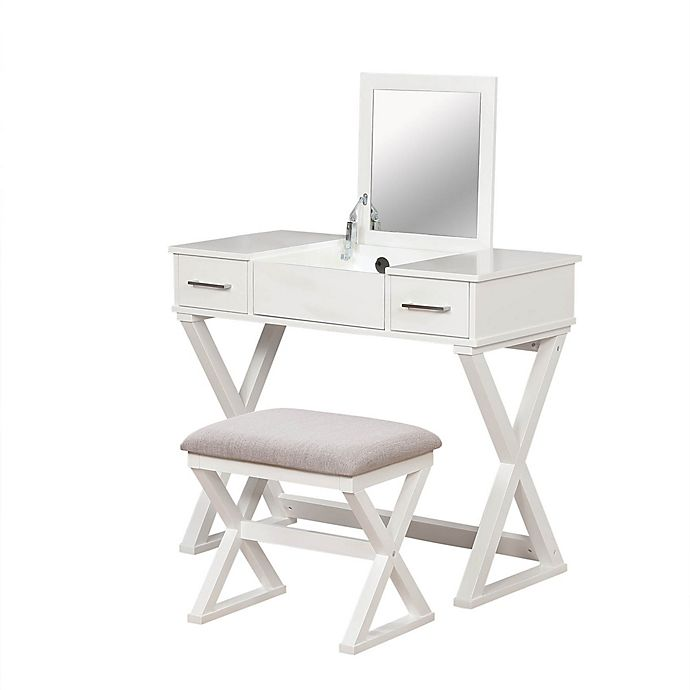 Alexis Bathroom Vanity with Stool | Bed Bath & Beyond
