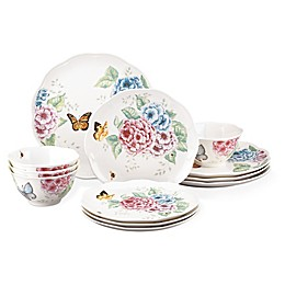 Lenox® Butterfly Meadow Hydrangea® 12-Piece Dinnerware Set