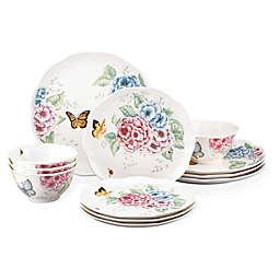 Lenox® Butterfly Meadow Hydrangea® 12-Piece Dinnerware Set