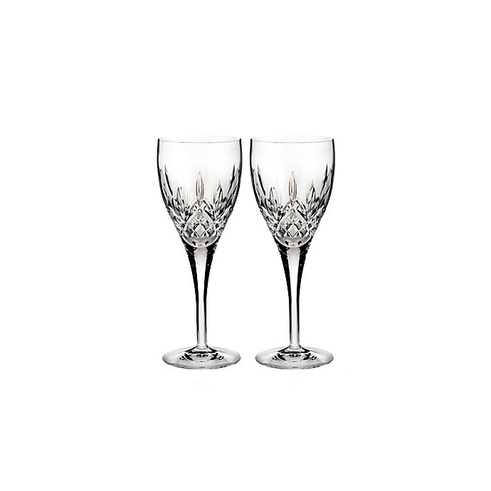 Alternate image 1 for Waterford® Lismore Nouveau Wine Glasses (Set of 2)