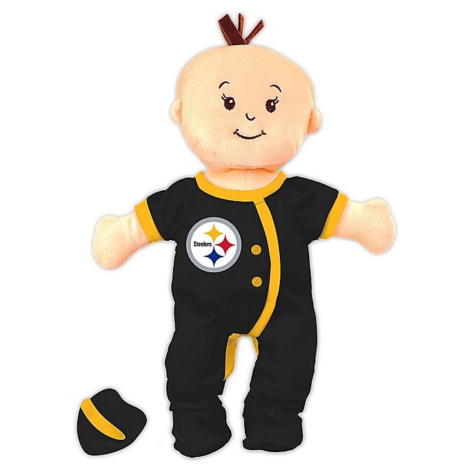 Alternate image 1 for NFL Pittsburgh Steelers 12-Inch Team Doll