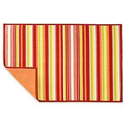 Fiesta® Striped Dish Drying Mat in Sunflower