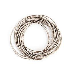 Saro Lifestyle Bangle Napkin Rings (Set of 4)