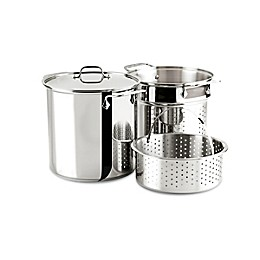All-Clad Stainless Steel 12-Quart Stainless Steel Multi-Cooker