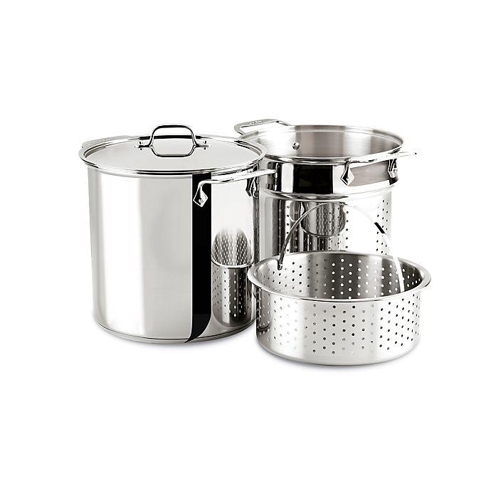 Alternate image 1 for All-Clad 12-Quart Stainless Steel Multi-Cooker