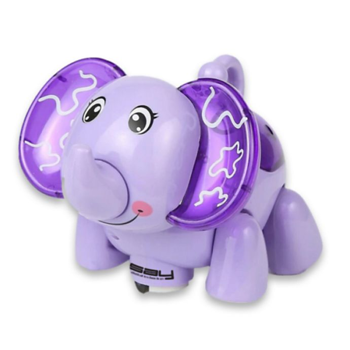 Alternate image 1 for LINSAY® Baby Elephant Smart Toy with LED Lights