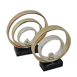 Moe's Home Collection Gold Bands Sculpture Collection