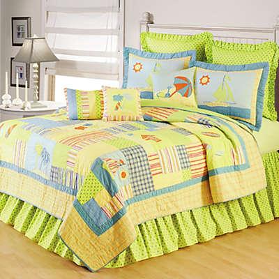 Beach Life Bedding Collection, 100% Cotton