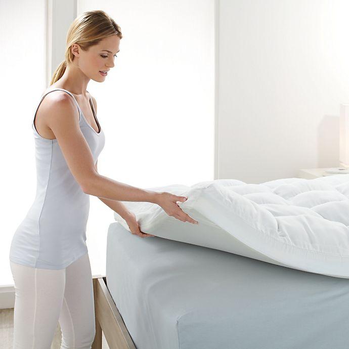 Brookstone Biosense Memory Foam Mattress Topper Bed Bath Beyond