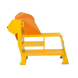 Teamson Kids® Zoo Kingdom Lion Bookcase in Yellow