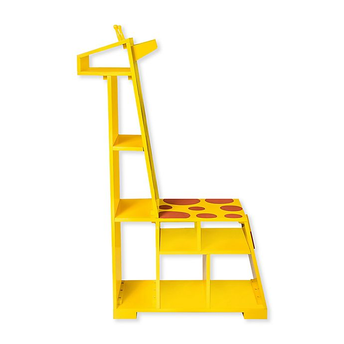 Alternate image 1 for Teamson Kids Zoo Kingdom Giraffe Bookshelf
