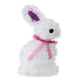 Northlight® 14-Inch Easter Bunny Window Decor in White