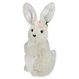 Northlight® 11.5-Inch Easter Bunny Girl Figure in Brown