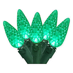 Brite Star 50-Count C6 Christmas Lights in Green