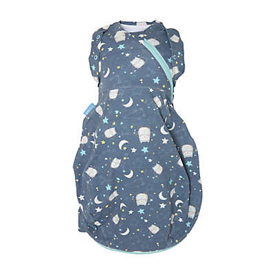 Tommee Tippee® Newborn Ollie the Owl Grosnug 2-in-1 Swaddle in Blue