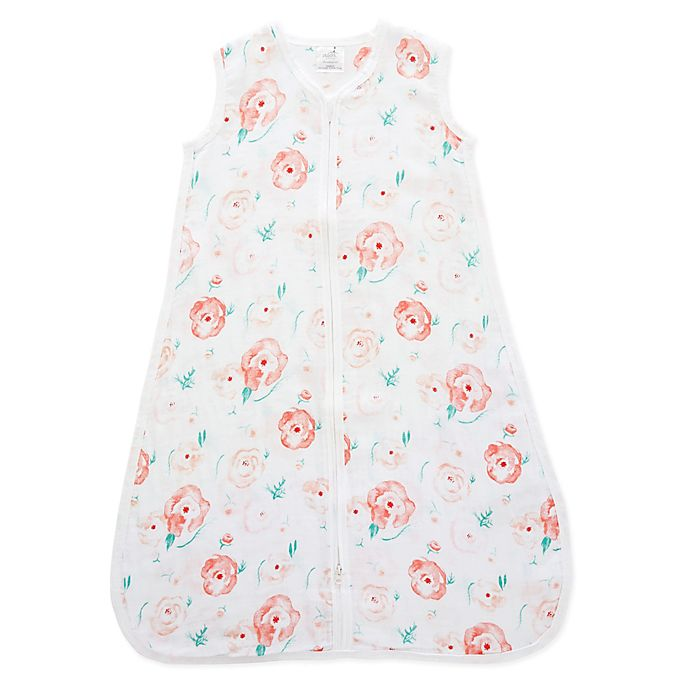 Alternate image 1 for aden + anais™ essentials Small 6-12M Wearable Blanket in Full Bloom