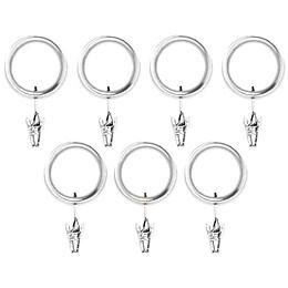 Umbra® Esquire Nickel Clip Rings (Set of 7)