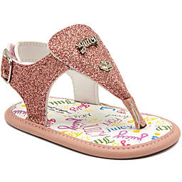 cae25f6fbfed Juicy Couture® Thong Glitter Sandals in Pink