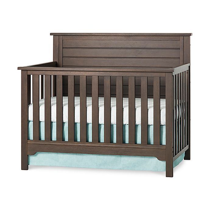 Alternate image 1 for Child Craft™ Forever Eclectic™ Farmhouse Flat Top 4-in-1 Convertible Crib