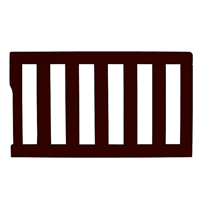Alternate image 1 for Dream On Me Universal Convertible Crib Guard Rail in Chocolate