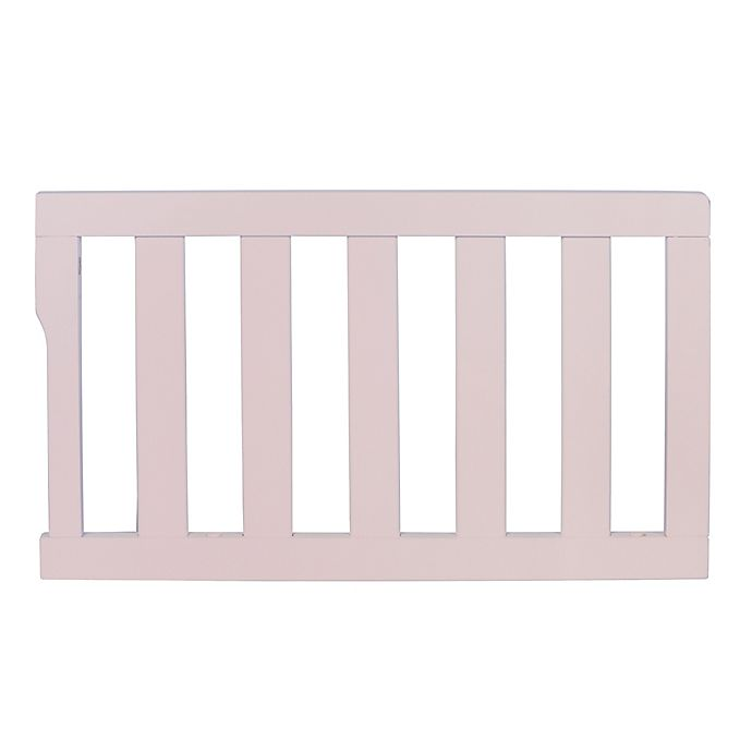 Dream On Me Universal Convertible Crib Guard Rail In Blush Bed