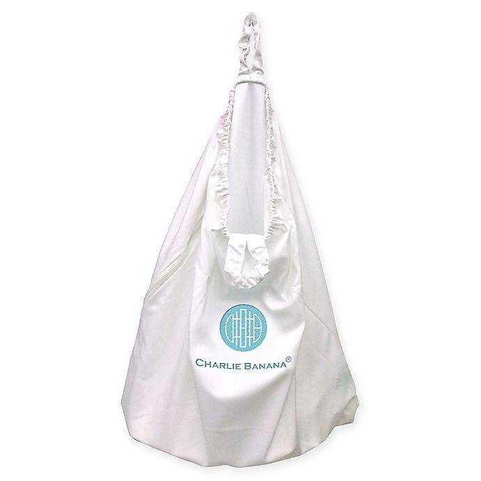 Alternate image 1 for Charlie Banana® Hanging Diaper Pail in White