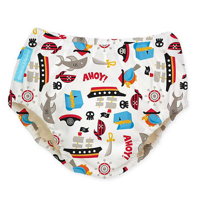 Alternate image 1 for Charlie Banana® Large Reusable Swim Diaper in Pirate