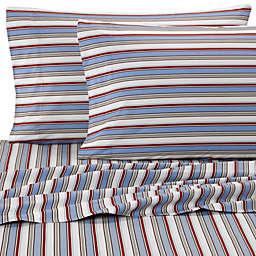 Micro Flannel® Striped King Sheet Set