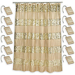 Sinatra Shower Curtain With Hooks In