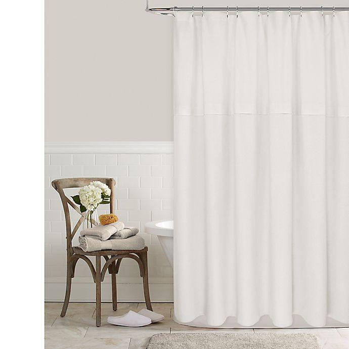 Alternate image 1 for Color Block Shower Curtain