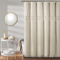 Delilah Lace Shower Curtain