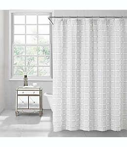 Cortina para baño estilo contemporáneo gris