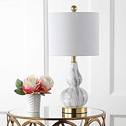 "JONATHAN Y Anya 20.5"" Mini Glass Table Lamp"