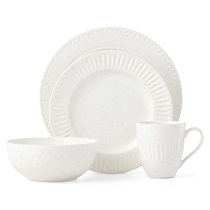 Alternate image 1 for kate spade new york Cannon Street™ 4-Piece Place Setting