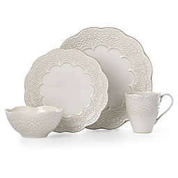 Lenox® Chelse Muse Scallop Grey™ Dinnerware Collection