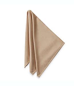 Servilletas de poliéster Ultimate Textile Basics™ color café camello, Set de 4 piezas