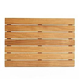 ARB Teak & Specialties Teak Wood 20-Inch x 14-Inch Shower Mat in Natural