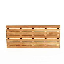 ARB Teak & Specialties Teak Wood 32-Inch x 14-Inch Shower Mat in Natural
