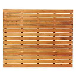 ARB Teak & Specialties Teak Wood 36-Inch x 30-Inch Shower Mat in Natural