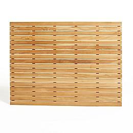 ARB Teak & Specialties Teak Wood 48-Inch x 36-Inch Shower Mat in Natural