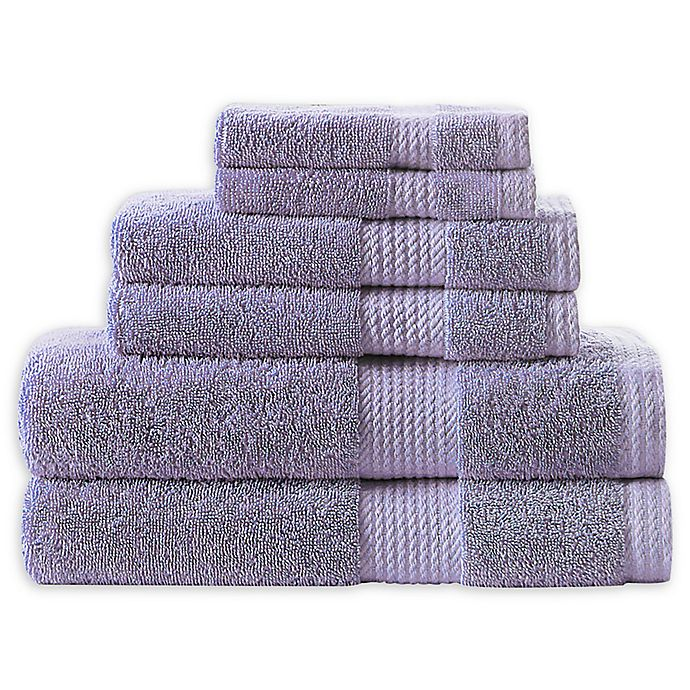 Alternate image 1 for Home Resort Extravagant 6-Piece Bath Towel Set in Lilac