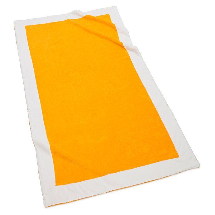 Alternate image 1 for Kassatex Capri Beach Towel in Lemon